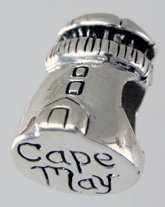 13856-Cape May Lighthouse Bead