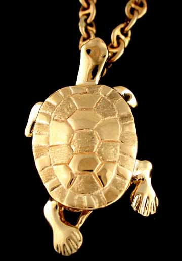 15584-Land Turtle Pendant
