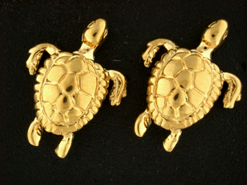 30291-Green Sea Turtle Earrings